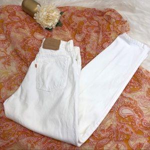 Levi's Jeans - VTG Levi's 951 Orange Tab White Mom Jean 12 ::T22